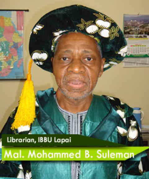 SULEMAN, Mallam Muhammad Bashar